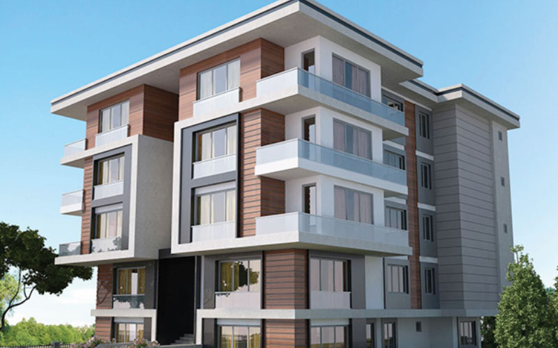 Mutlu Apartmanı - Yeşilköy - Cephe