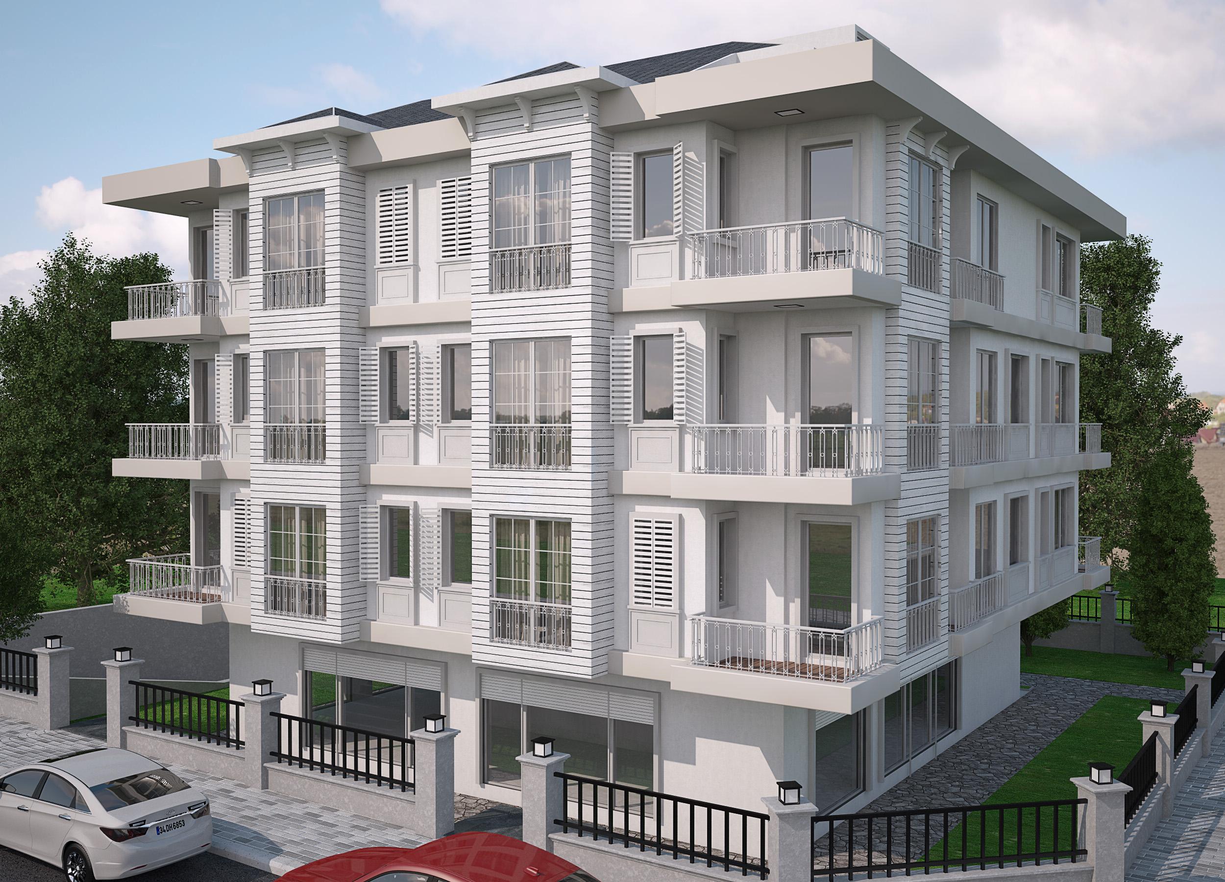 Saral Apartmanı - Yeşilköy - Cephe