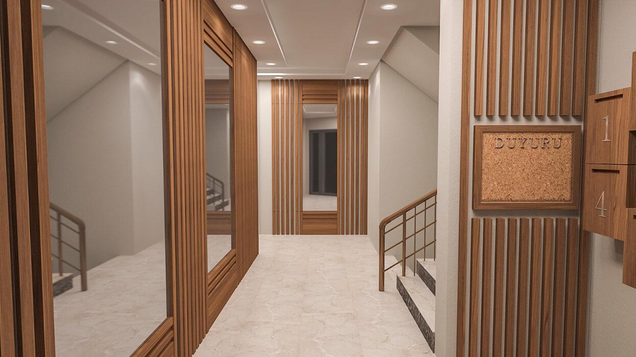 Çimen Apartmanı - Florya - Koridor