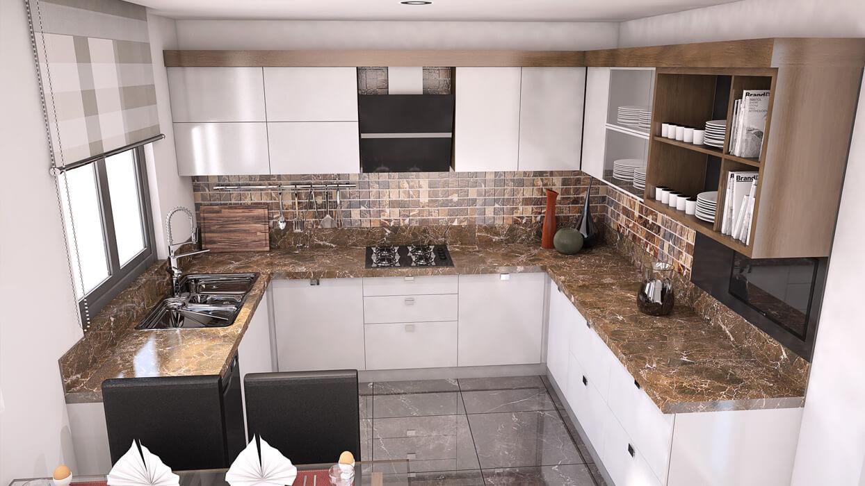 Mutlu Apartmanı - Yeşilköy - Mutfak